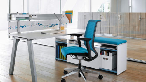 steelcase-fusion 4 pieds